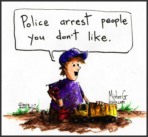 What do policemen do