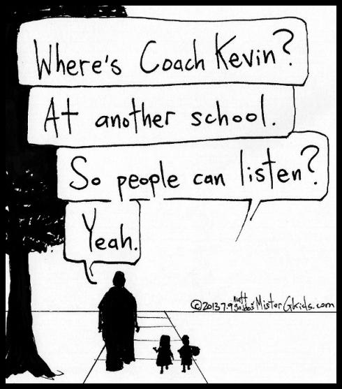 What P.E. Teachers do