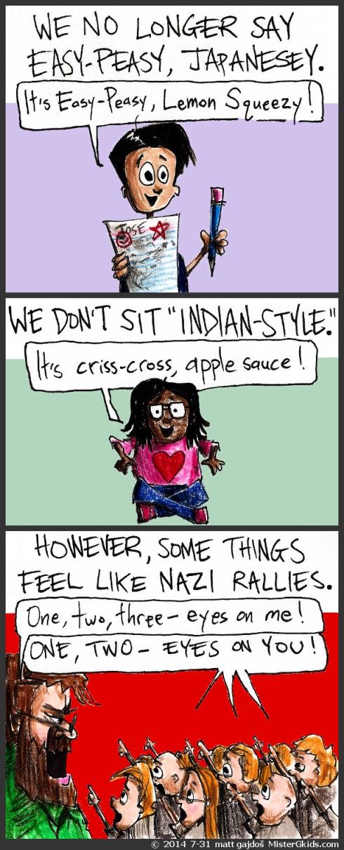 The politically correct classroom